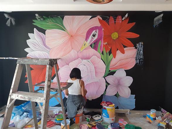 Diseño interior mural