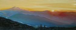 Sunset on Mnt.Chrystal