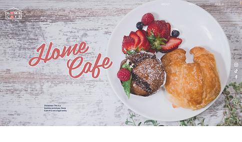 Home Cafe Homepage