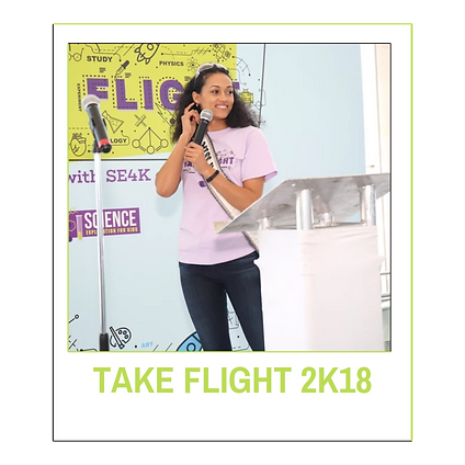 TAKE FLIGHT 2K18