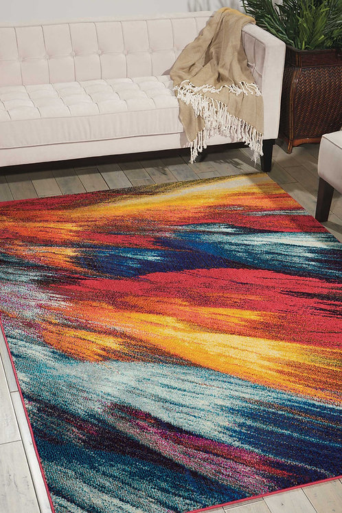 Celestial CES05 Multicolor  Colorful Area Rug