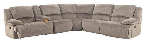 Toletta - 6-Piece Reclining Sectional Non-Power