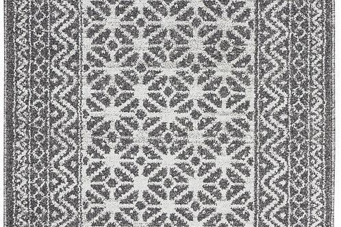 Palermo Silver Distressed Bohemian Area Rug