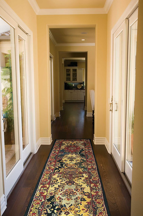 India House IH23 Multicolor Runner Hallway Rug