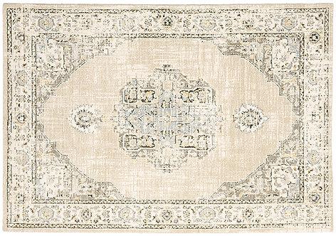 Oriental Weavers Andorra 303d0 Beige - Ivory Area Rug