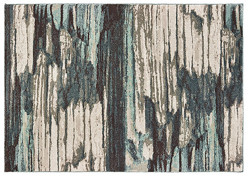 Oriental Weavers Carson 9675a Blue - Ivory Area Rug