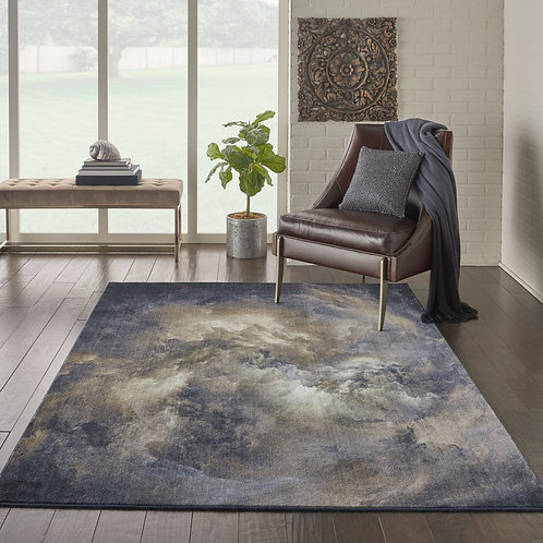Le Reve LER07 Brown and Grey PhotoReal Area Rug