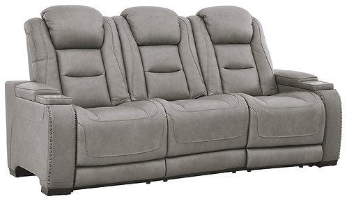The Man-Den - PWR REC Sofa with ADJ Headrest