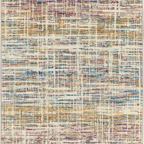 Nourison Radiant RAD11 Multicolor 7' Runner Low-pile Hallway Rug