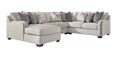 Dellara - 4-Piece Sectional with Chaise