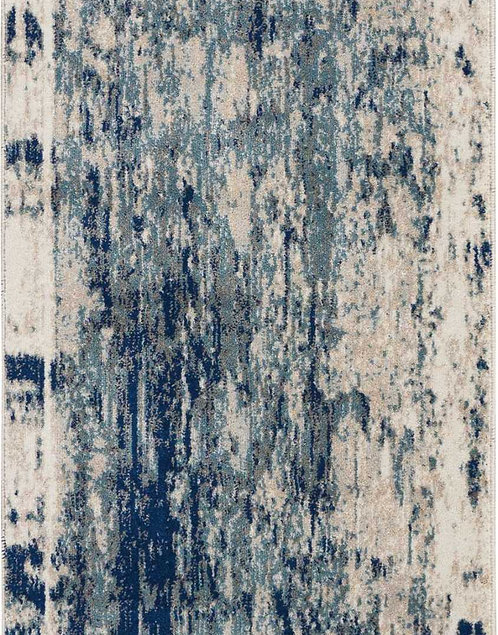 Maxell MAE16 Blue and Ivory Rug
