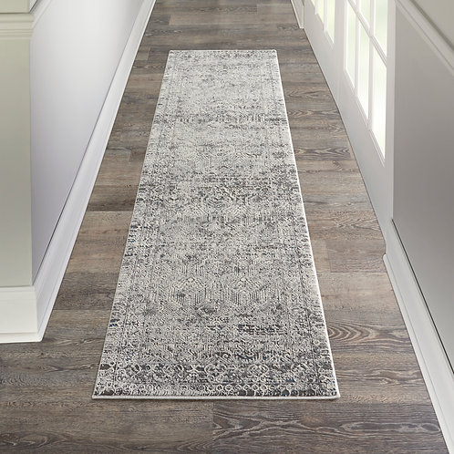 Kathy Ireland Grand Expressions 8' Runner    Area Rug