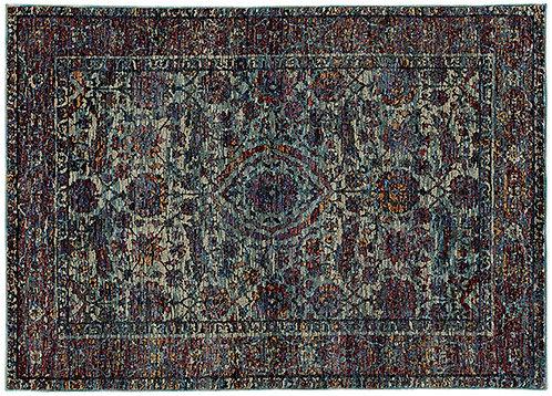 Oriental Weavers Andorra 6846b Blue Area Rug