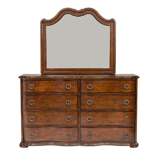 Cotswold (545-BR) Dresser & Mirror
