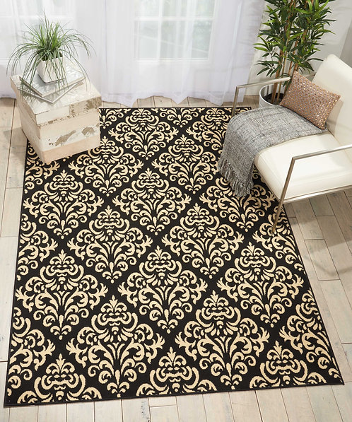 Grafix GRF06 Black Area Rug