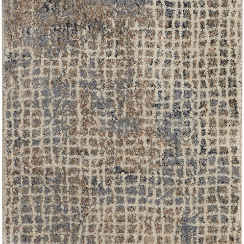 Kathy Ireland Moroccan Celebration 8' Runner  Rustic  Area Rug