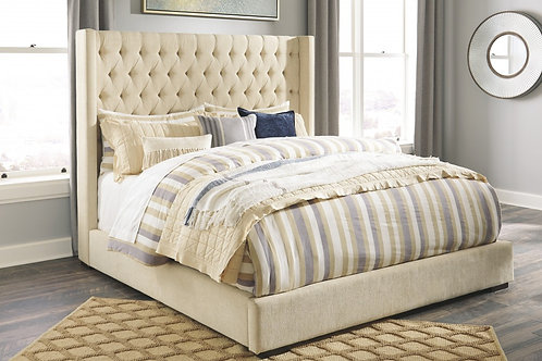 Norrister - King Upholstered Bed