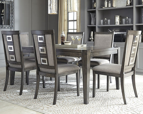 Chadoni - Dining Table and 6 Chairs