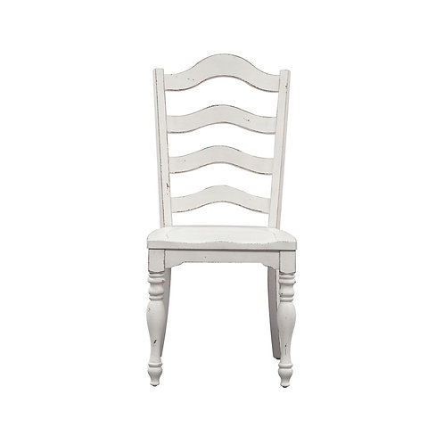 Magnolia Manor (244-CD) Ladder Back Side Chair Set of 2