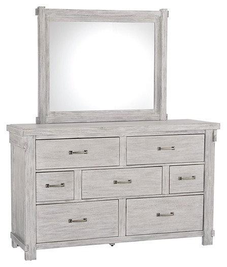 Brashland - Dresser and Mirror