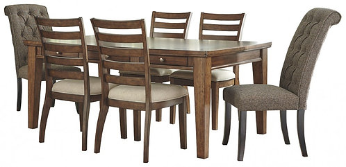 Flynnter - Dining Table and 6 Chairs