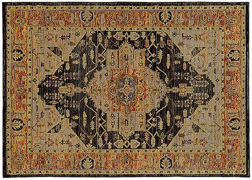 Oriental Weavers Andorra 7138b Gold Area Rug