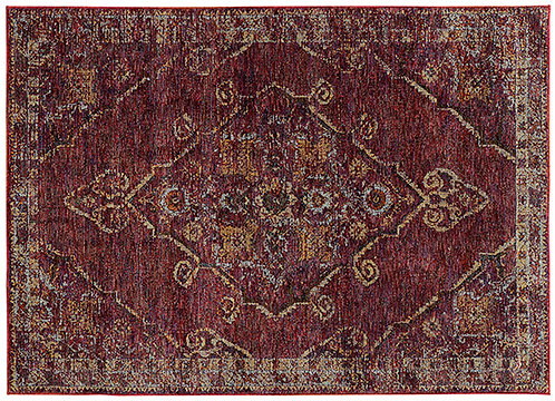 Oriental Weavers Andorra 7135e Red Area Rug