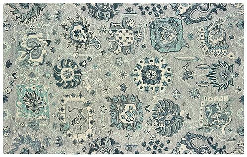 Oriental Weavers Zahra 75508 Grey - Blue Area Rug