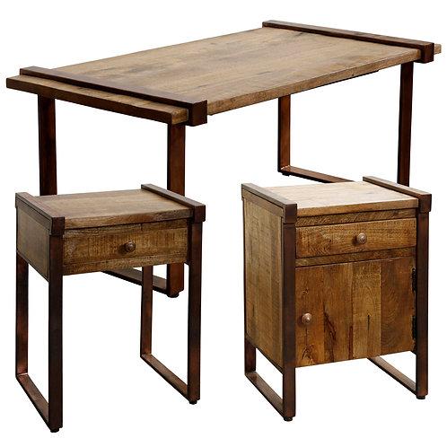 MANGO WOOD SET OF TABLES