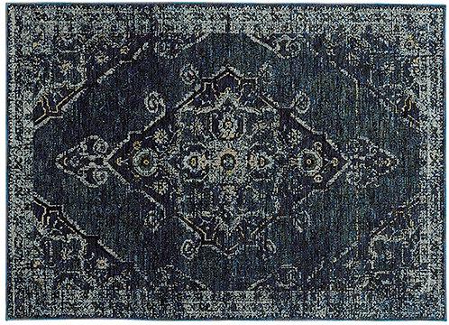 Oriental Weavers Andorra 7135f Blue Area Rug