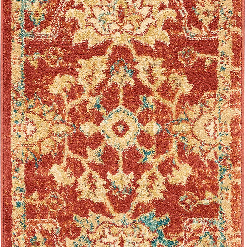 Nourison Traditional Antique 8' Runner  Persian    Area Rug
