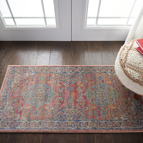 Ankara Global ANR01 Multicolor Persian Area Rug
