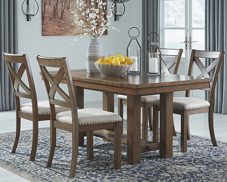 Moriville - Dining Table and 4 Chairs