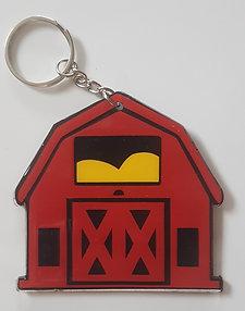 """Barn 3"""" Keychain"""