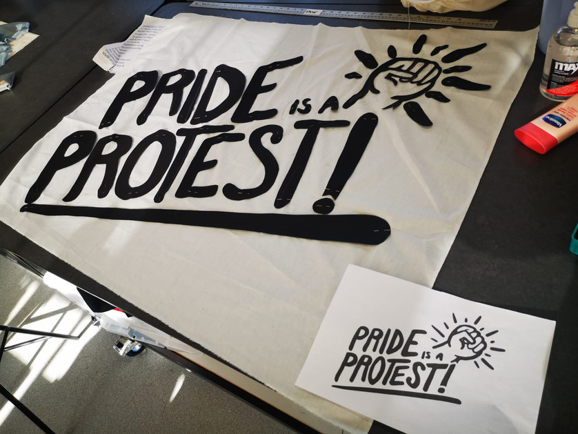 Pride is a Protest Flag