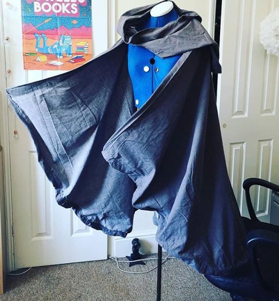 The Lone Dueller - Windswept cloak