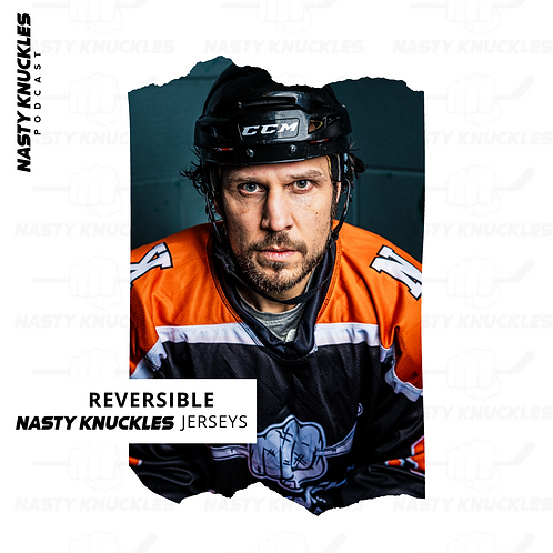 NASTY KNUCKLES Reversible orange & black Jersey