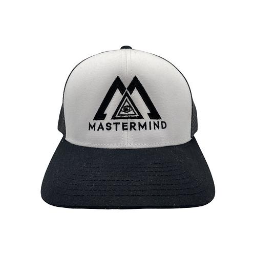 """Black & White """"Mastermind"""" Hat"""