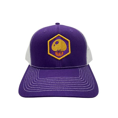 "Purple Bodychek ""Mushroom"" Hat"