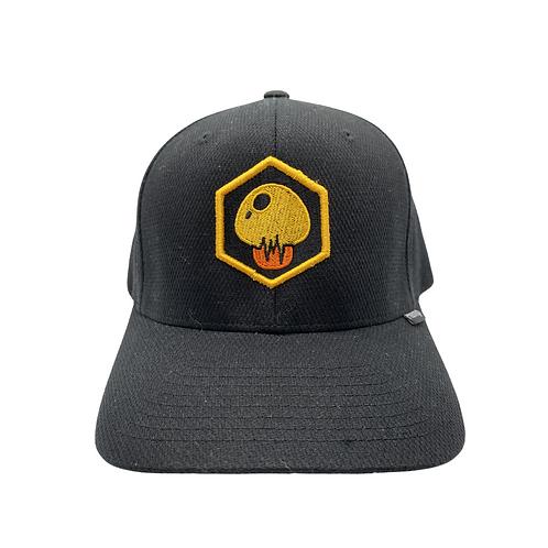 """Black Hemp Bodychek """"Mushroom"""" Hat"""
