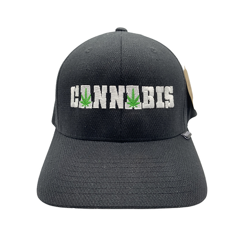 "Black Hemp ""Cannabis"" Hat"