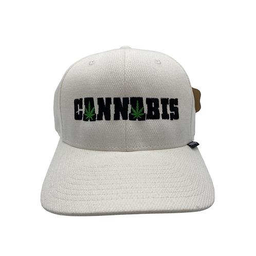 "White Hemp ""Cannabis"" Hat"