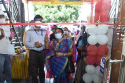 Inauguration of Rural Mart, Akola