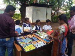 STEM Library at ZP Primary Schools, Gond