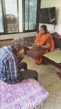 Prarthana at Aastha Prakalp