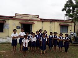 Students - ZP School in Bhandara