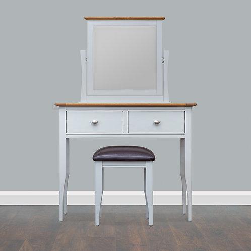 Lagan Oak Vanity Unit Set