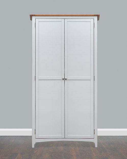 Lagan Oak 2 Door Wardrobe