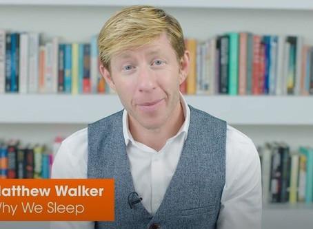 Matthew Walker Busts Sleep Myths | Why We Sleep