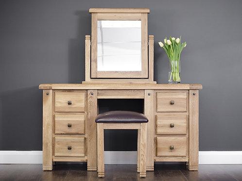 Donny Oak Vanity Set